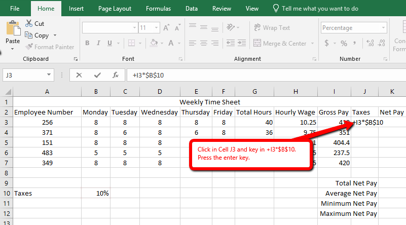 Excel - Advanced Cell Formatting – NCTTA